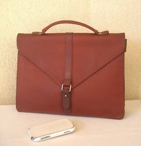 Petit Marron Sac Cuir Cartable En Paquetage Graine Simili 11r0Bpqx