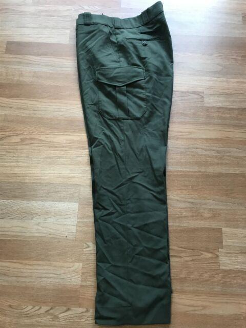 FLYING CROSS Men/'s 34-REG Green HEMMED Uniform Pants FREE SHIPPING 39305