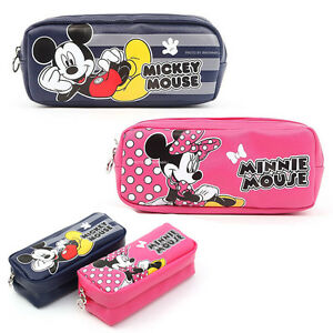 Image Is Loading Mickey Mouse Pencil Case Minnie Pen School Office