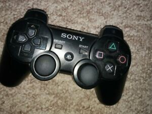 Sony-Playstation-3-PS3-Sixaxis-Black-Wireless-Controller-Model-CECHZC1E-GC