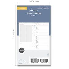 Filofax Insert Personal Meal Planner Refill 132684