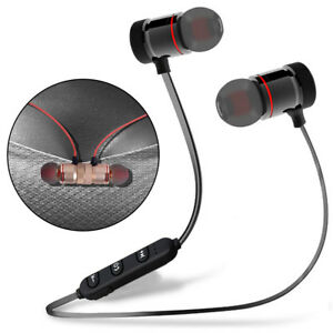 Metal-Magnetic-Bluetooth-Headphone-Wireless-Earphone-Sports-Bass-Headset-Earbuds