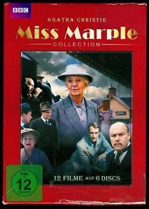 DVD-Box (6 DVDs) - BBC - Agatha Christie - Miss Marple Collection - FSK 12
