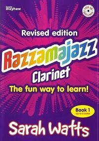 Razzamajazz Clarinet Book 1 Watts Book & Cd* Musical Instruments & Gear