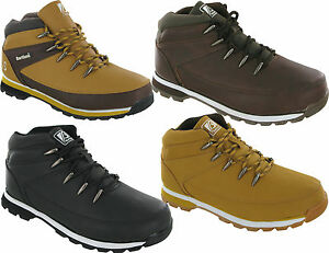 MENS-BARTIUM-CASUAL-LACE-UP-HIKING-BIKER-COLLAR-ANKLE-SHOES-LONG-EYELETS-BOOTS