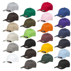 Flexfit-Cap-Baseball-Caps-Grey-Underside-Hat-Baseball-Cap-Cap