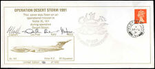GB 1991 Operation Desert Storm, Signed FPO Cover #C31852