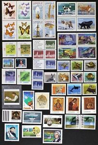 CANADA-Postage-Stamps-1988-Complete-Year-set-collection-Mint-NH-See-scans