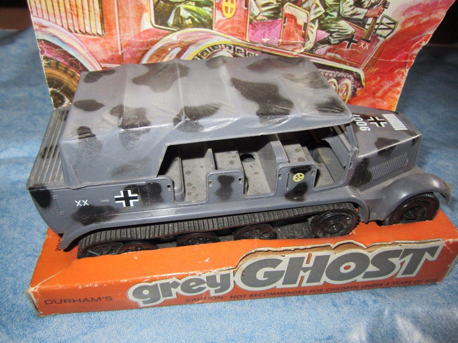 DURHAM Industries grigio GHOST WW2 Germany Armourosso Troop Carrier anni '70