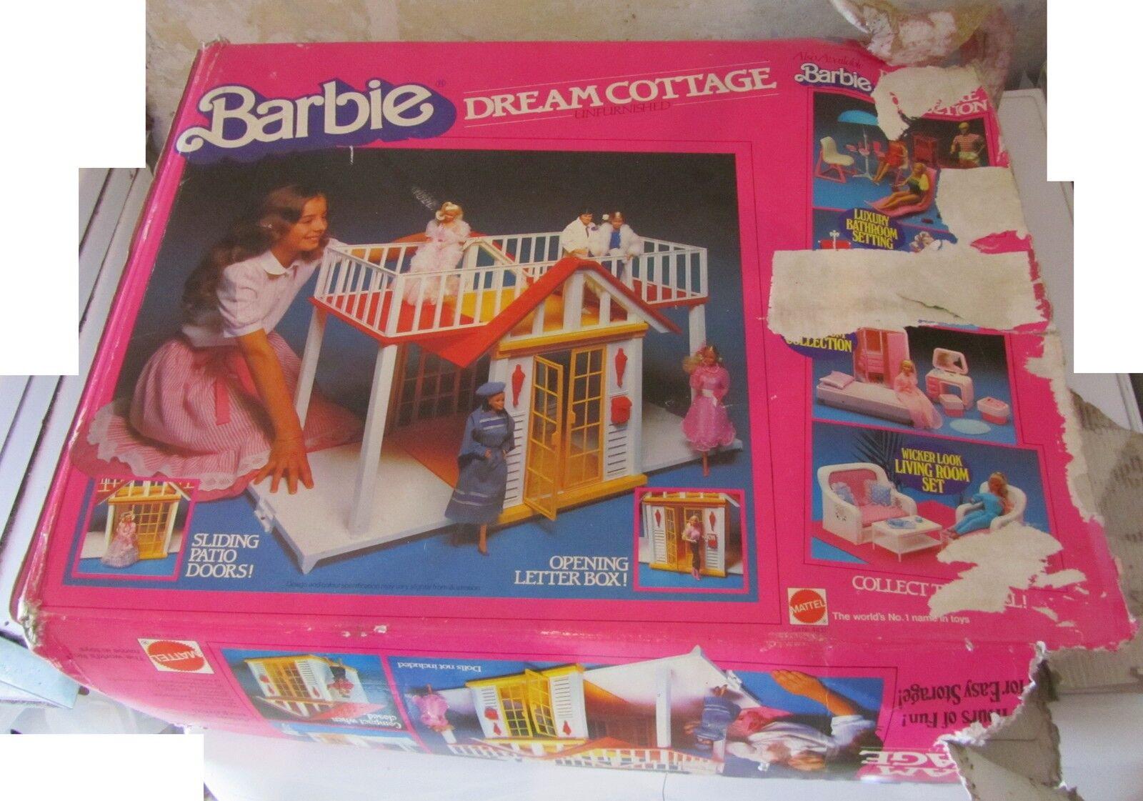 Barbie Dream Cottage Mattel vintage villa dei sogni INCOMPLETA SPESE GRATIS