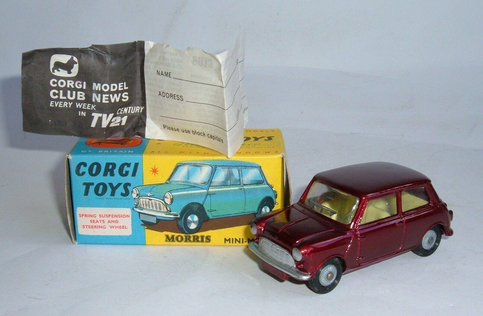 CORGI TOYS Nº 226, Morris Mini-minor, - SUPERBA Quasi Nuovo.