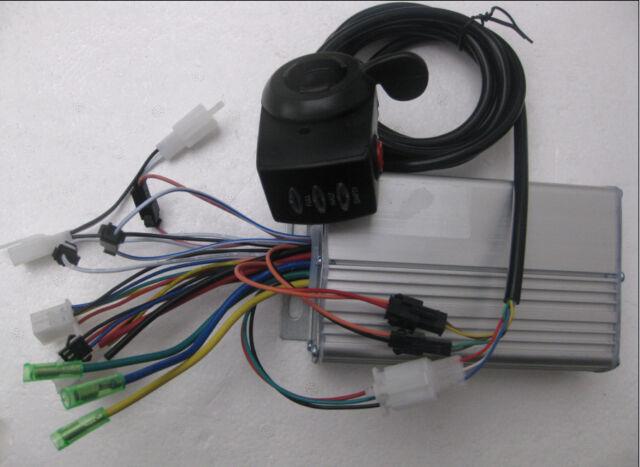 36V/48V 350W 9Mosfets E-Bike Scooter Brushless Hub Motor Controller
