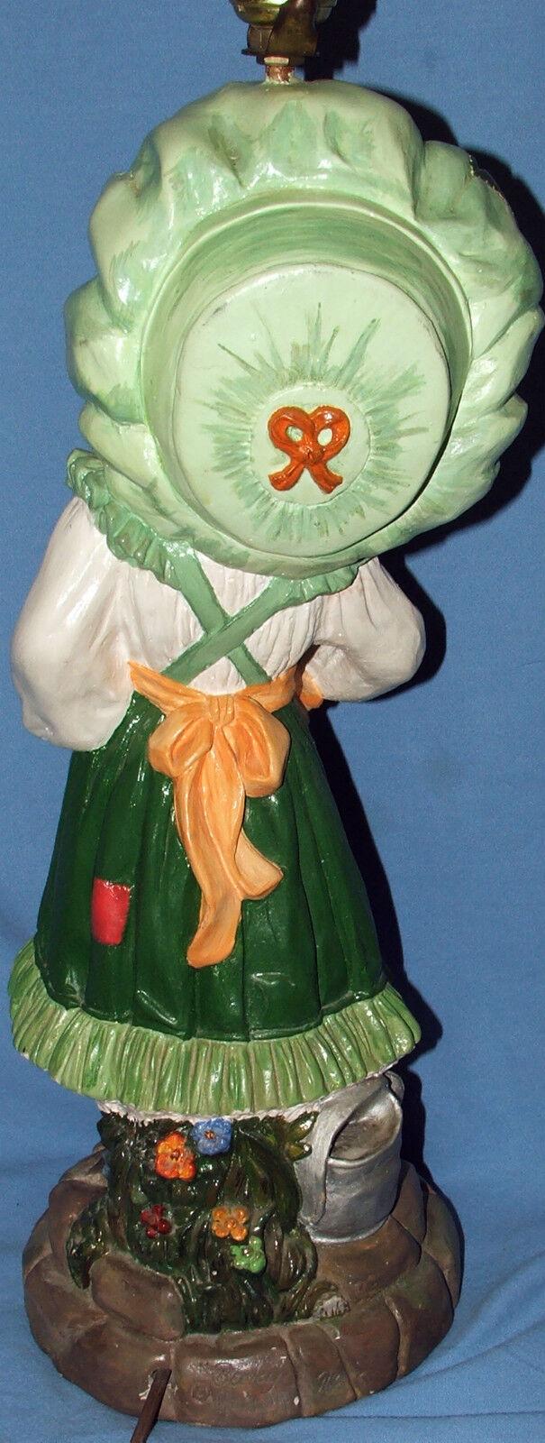 Rare Reglor Chalkware Becky 55.9cm Haut Lampe de Table Table Table Fonctionne Bien | Se Vendant Bien Partout Dans Le Monde  d4ab77