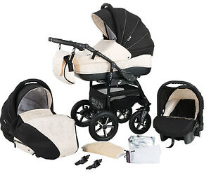 Zipy pram pushchair travel system 3in1 from baby merc ebay for Mercedes benz baby pram