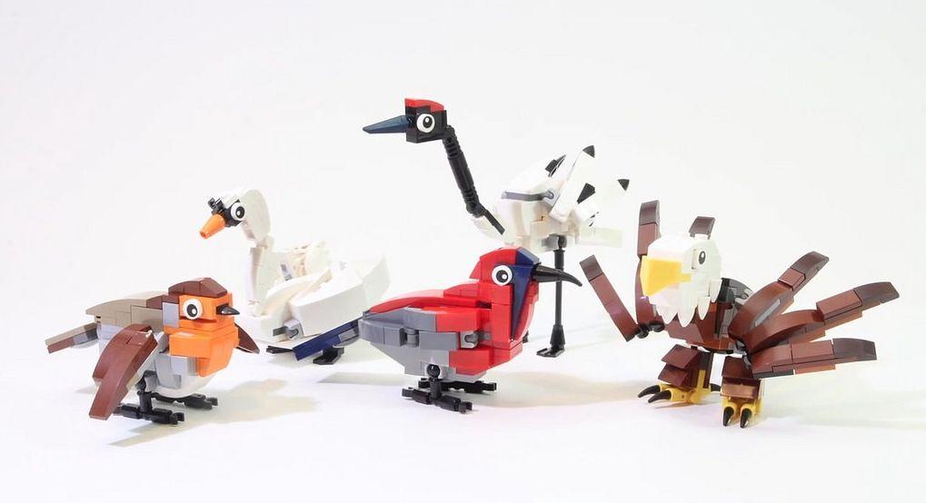 LEGO® Miscellaneous 4002014 Hub Birds Exclusive Set NEU OVP OVP OVP NEW MISB NRFB 62cee1