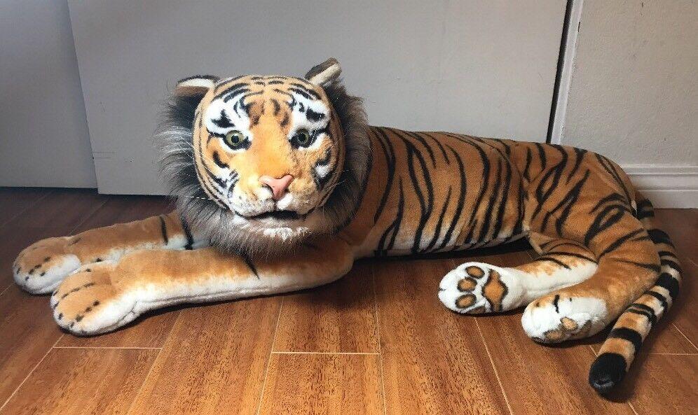 RARE Tiger Plush 36    gree Massive bambola 9c94eb