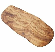 Naturally Med - Olive Wood Cutting Board / Cheese Board - 16 inch