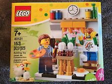 LEGO 2015 Exclusive Easter Egg Decorating Holiday Set (40121) - New & Sealed!!