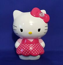 VERY CUTE PORCELAIN HELLO KITTY COIN BANK/FIGURINE IN VERY GOOD CONDITION