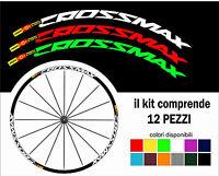 kit adesivi cerchi bici mavic crossmax  26  27,5  28  29 personalizza colore