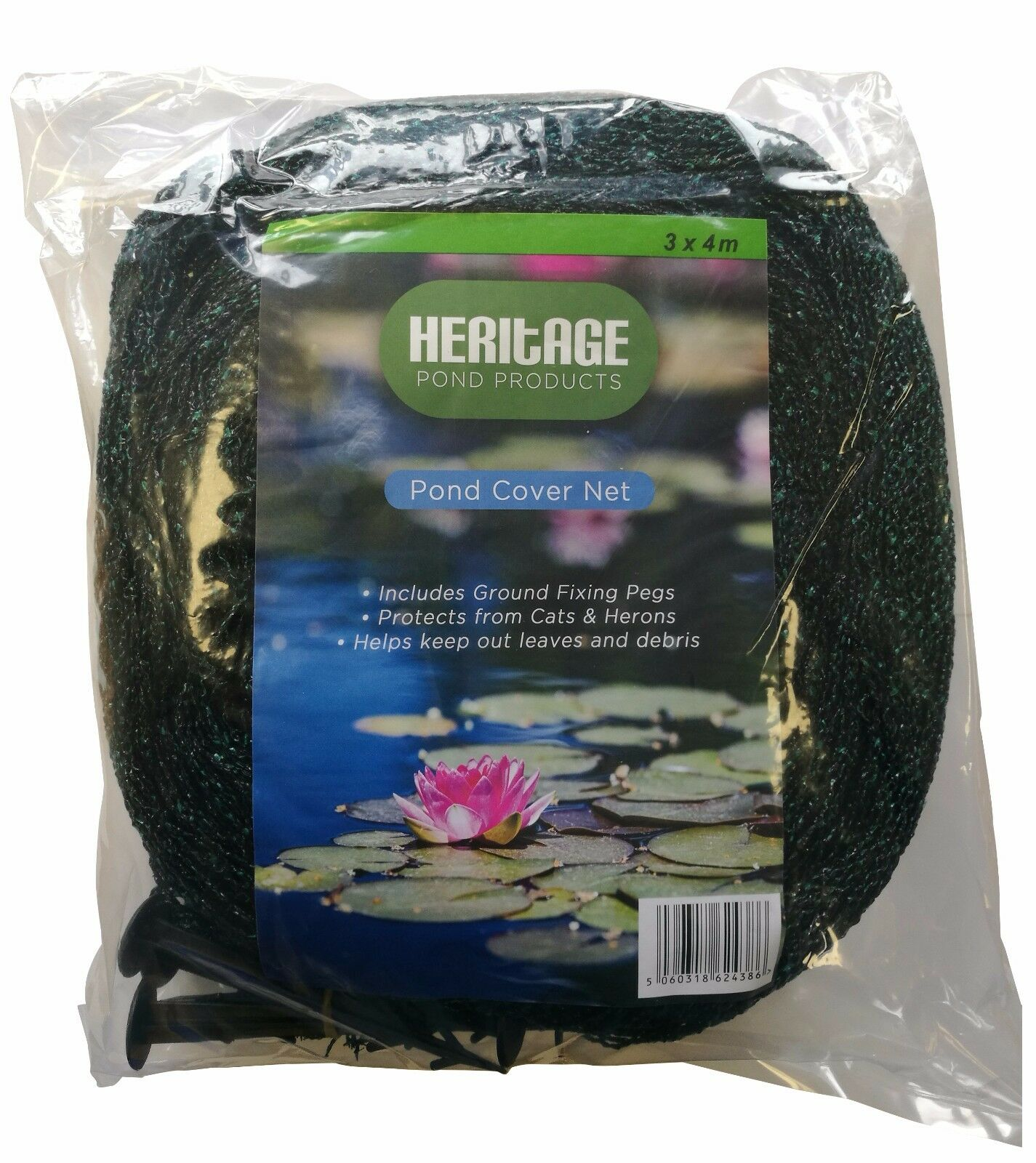 Koi Fish Pond Pool Cover Net Protector 2M 3M 4M 6M 10M Heron Cats Netting Leaves