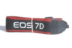 Red EOS Camera Neck Strap NEW Canon EW-300D Black