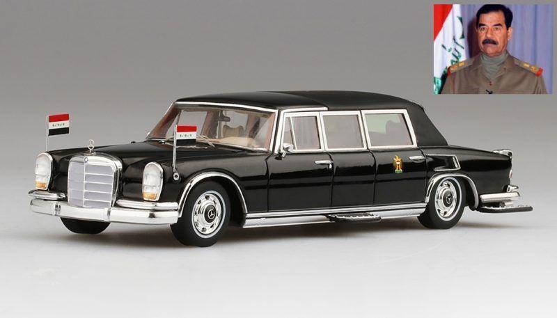 Mercedes Benz 600 Pullman Landaulet 1978 Saddam Hussein President Of Iraq 1 43