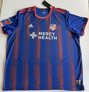 Details about 2019 ADIDAS AUTHENTIC FC CINCINNATI MLS Inaugural Soccer Jersey Mens 3XL NWT