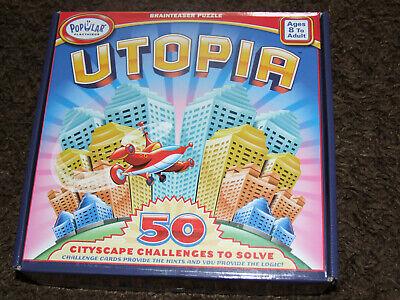Espressive Utopia Brainteaser Puzzle Cityscape Challenge Gioco-mostra Il Titolo Originale Prestazioni Affidabili