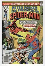 Spectacular Spider-Man #1 Return Of The Tarantula Bronze Age Key VF