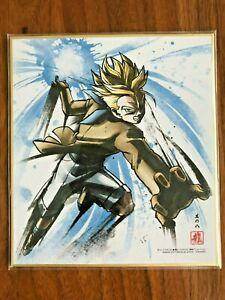 2018 Dragon Ball Shikishi Art Part.7 Badakku No 11 Japan F//S