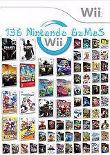 136 Games (Nintendo Wii ) **Hard Disk - No Discs** ENDING SOOOOOOON