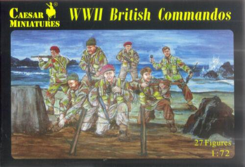 Caesar Miniatures 1//72 WW2 British Commandos