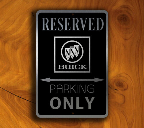 Buick Signs GARAGE SIGN Buick Gift Buick Parking Only Sign