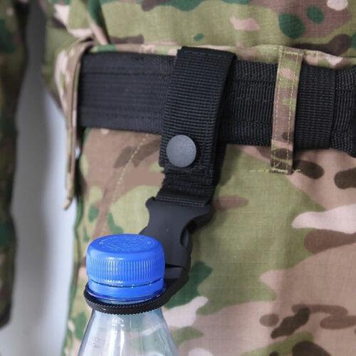 Am /_ Wandern Camping Reise Wasser Flasche Schnalle Außen Karabiner Clip Halt
