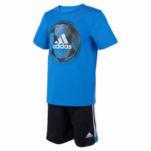 Adidas Boys Youth 2-piece Short Set