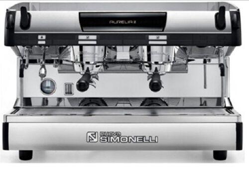 Simonelli Aurelia Semi Automatic 2 group Espresso Machine Plus FREE Installation