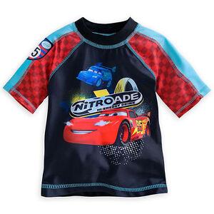 Rash ragazzo misura Mcqueen Cars Store 6 Lightning 5 Guard Disney Swim Shirt IaqOzwxCan