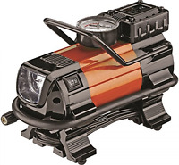 Portable Air Compressor 12v Auto Tire Inflator Heavy Duty Powerful Led Car Pump