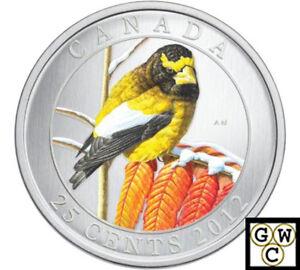 2012-039-Evening-Grosbeak-039-Colorized-25ct-Coin-Oversized-13052
