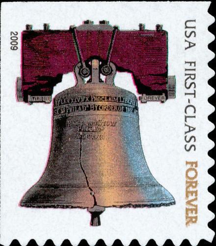 2009 41c Liberty Bell, SA Scott 4125f Mint F/VF NH