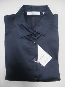 5352 Slim Langarm Bluse Fit Uni Eterna 19 Nachtblau Dy44 dtHPgq