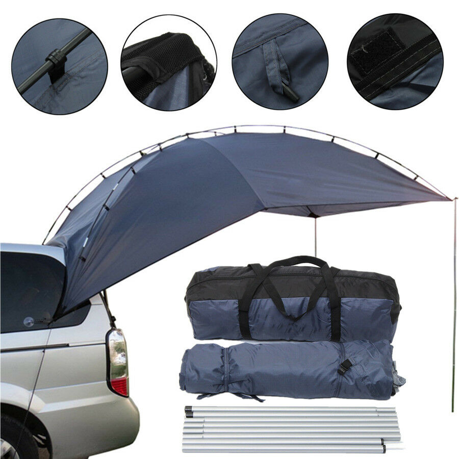 Awning Roof Shelter Car Tent Canopy Shade Trailer Camper RV Camping Accessories
