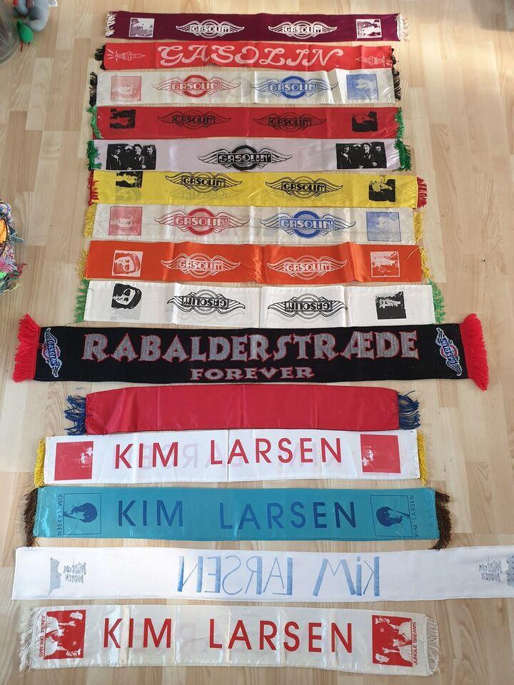 Andre samleobjekter, 15 STK GASOLIN/KIM LARSEN