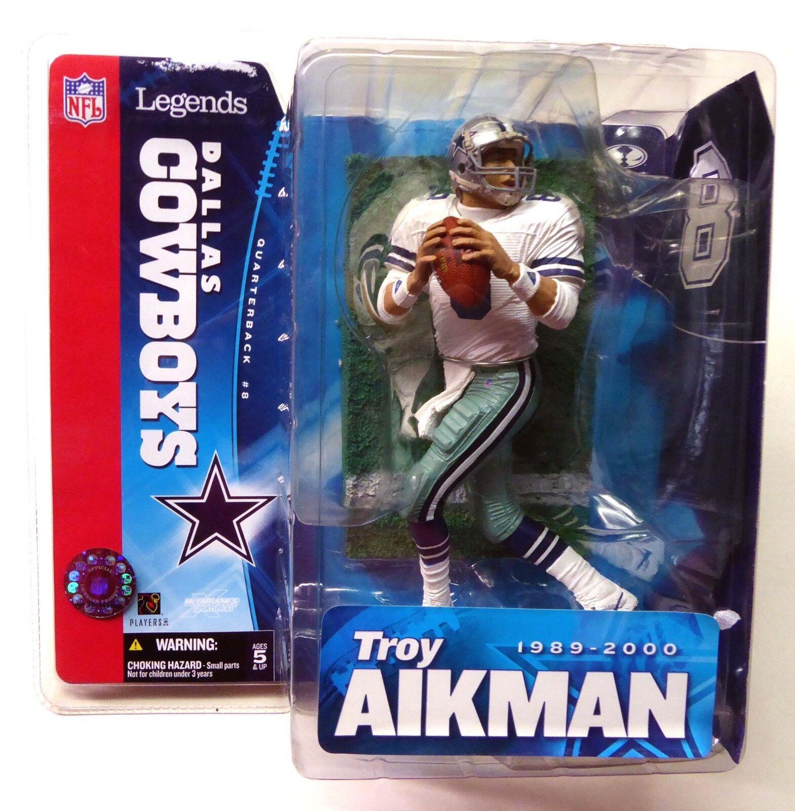 McFarlane Sports Troy Aikman NFL Legends Series 1 QB Figure  2005