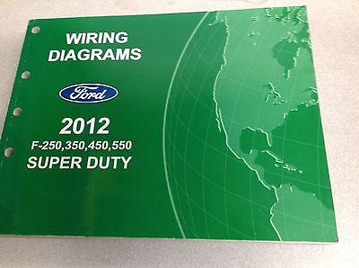 2012 Ford F-250 F350 F250 450 550 Wiring Electrical Diagram Manual NEW |  eBayeBay