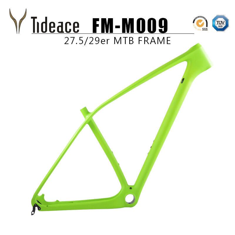 2018 Aero de fibra de Cochebono mountain bike bicicleta MTB Marcos PF30 verde Marco OEM