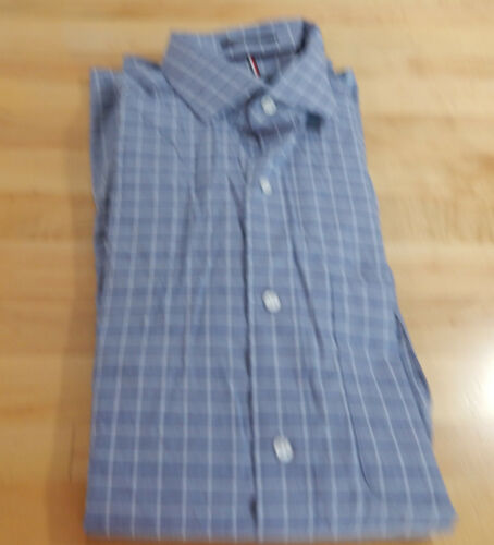 Used Men/'s TOMMY HILFIGER Regular Fit stretch à manches longues Chemise habillée-variété
