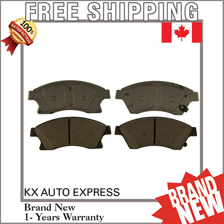 FRONT CERAMIC BRAKE PADS FOR BUICK VERANO 2012 2013 D1522