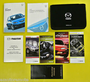 mazda3 mazda 3 05 2005 mazda owners owner s manual set w case all rh ebay com mazda tribute owners manual 2005 mazda 3 service manual 2005